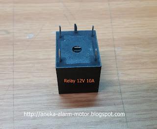 Relay Tambahan pada Pemasangan Alarm Motor Remote
