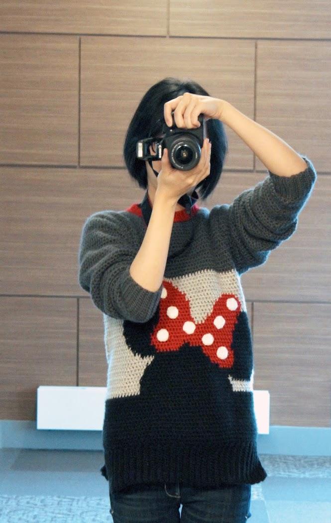 Minnie Mouse Crochet Sweater Sneak Peek