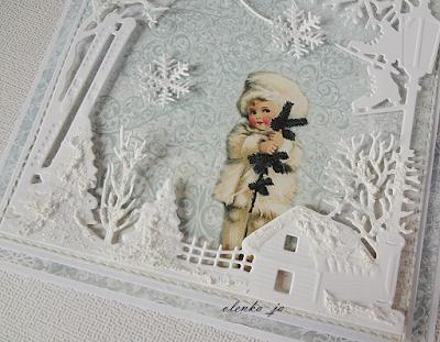 Zimowo-świąteczne karteczki