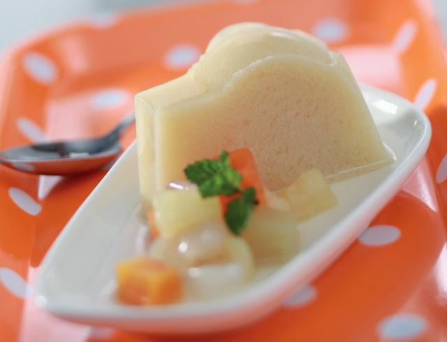 Resep dan Cara Membuat Puding Susu Nutrijel Buah
