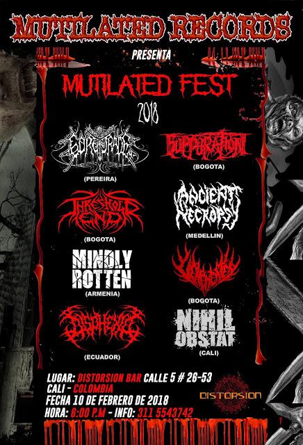Colombian Death metal, Metal Colombiano, Cali, valle del cauca, Musica, Evento
