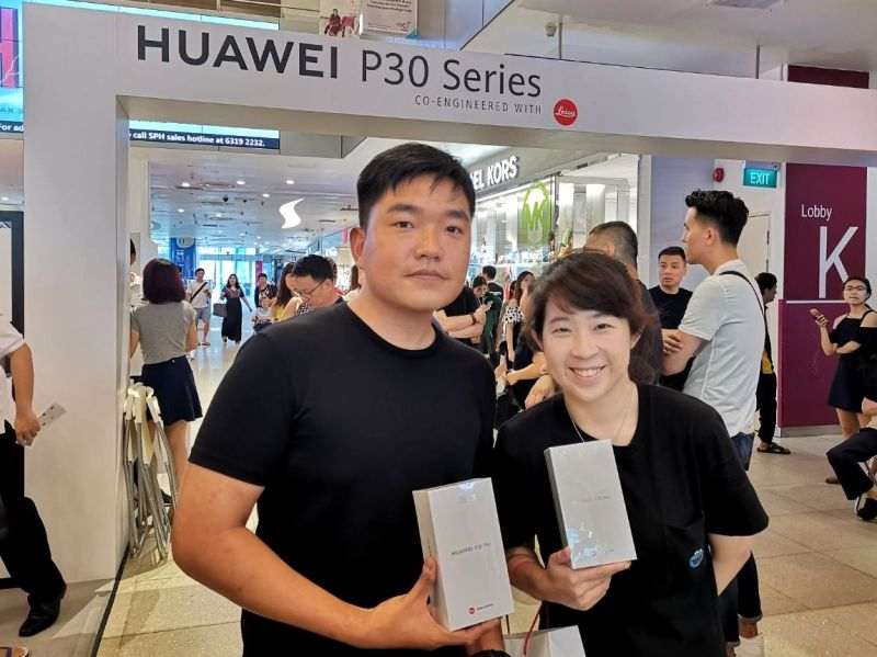 flagship huawei p30 series sold out at vivocity