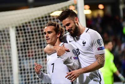 Cuplikan-Gol-Luksemburg-vs-Prancis-Skor-1-3