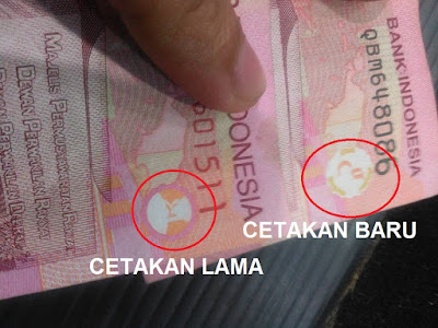 """Mengapa Ada Gambar Mirip """"Palu Arit"""" di Uang Kertas? Begini Penjelasan Resmi Kata @BankIndonesia"""