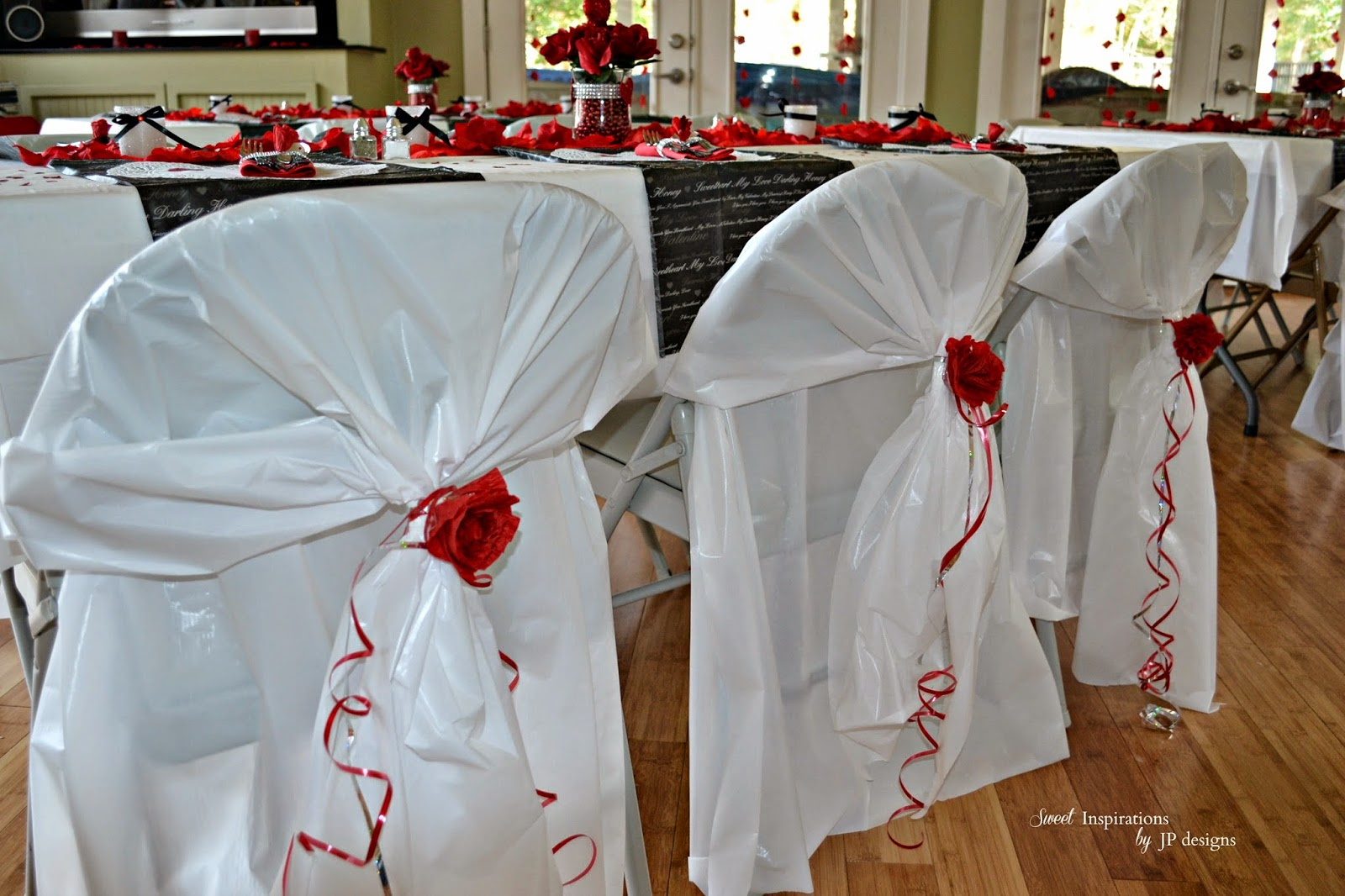 folding chair covers diy tufted swivel tub sweet inspirations by jp designs a very romantic