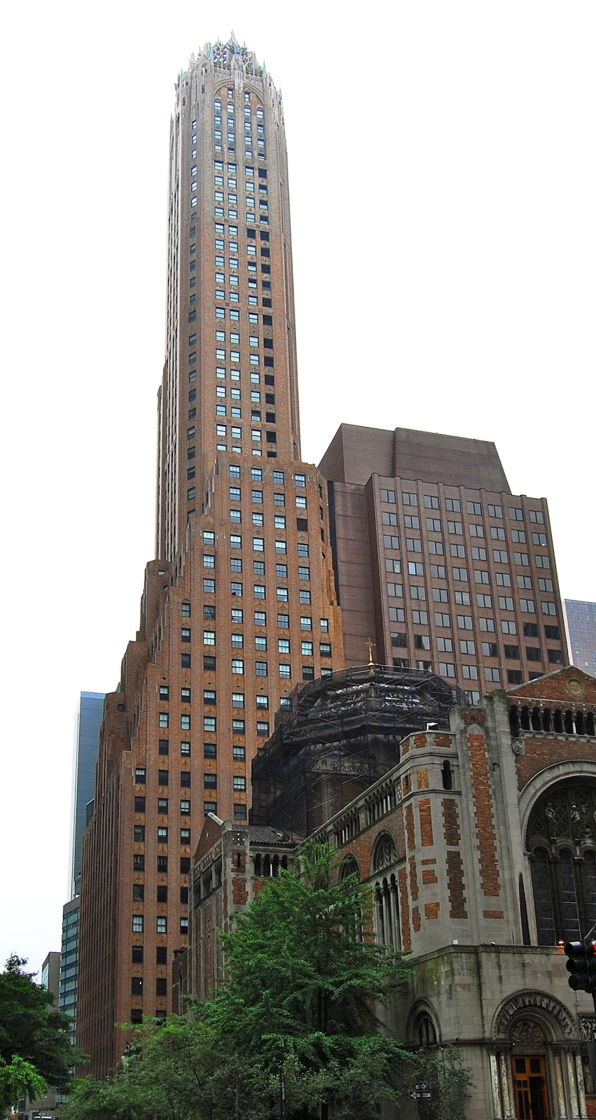 The Gothic Art Deco General Electric Building
