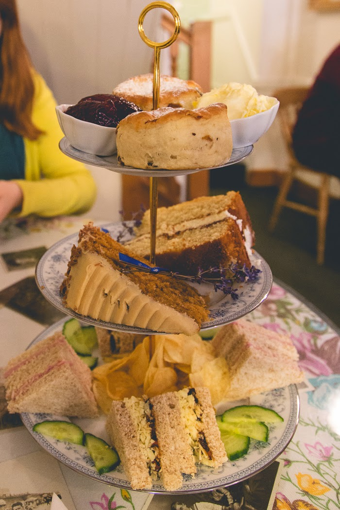 Afternoon tea at Bunty's Lincoln
