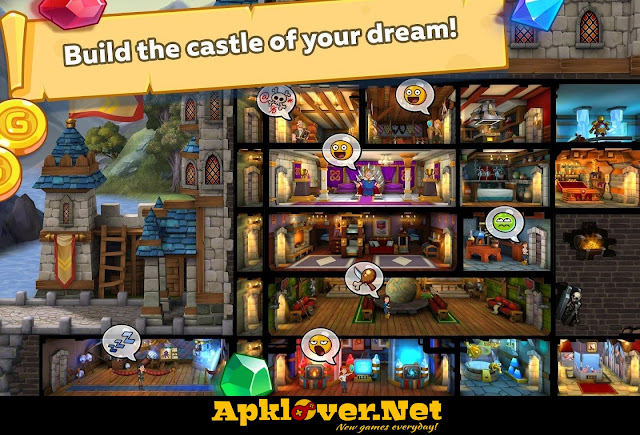 Hustle Castle: Fantasy Kingdom MOD APK always win