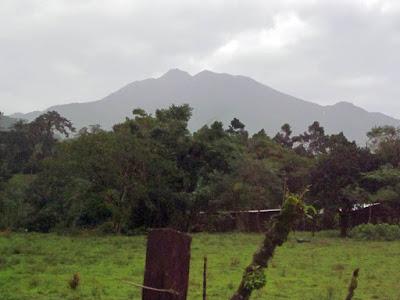 Volcan Juan Tenorio en Costa Rica
