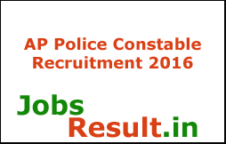 AP Police Constable Recruitment 2016