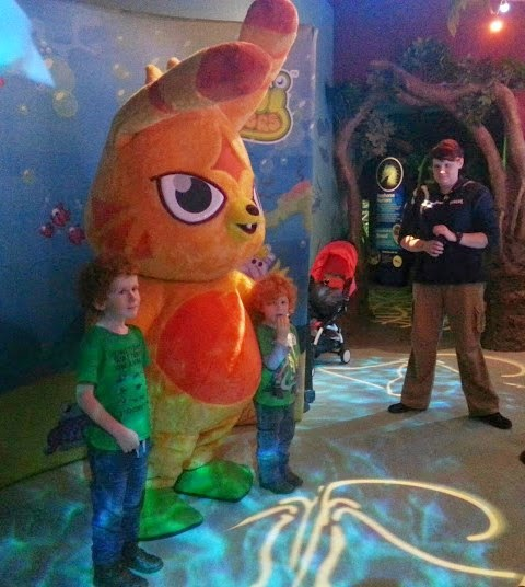 SeaLife Manchester meeting Moshi Monsters