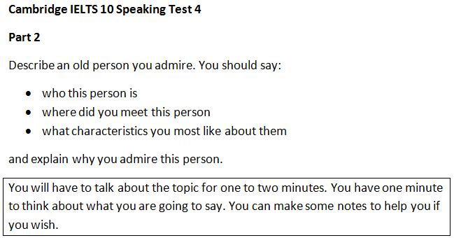 Ielts speaking task 2 sample questions business plan detskogo kafe