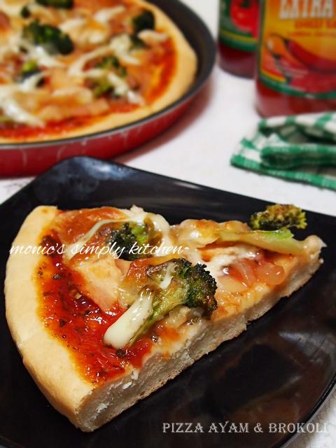 resep pizza mudah sederhana