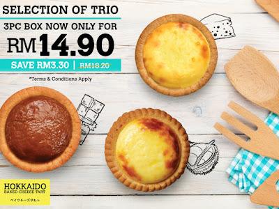 Hokkaido Baked Cheese Tart Discount Promo