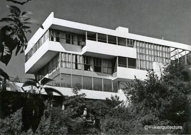 Lovell House en California, Estados Unidos 1927 - 29