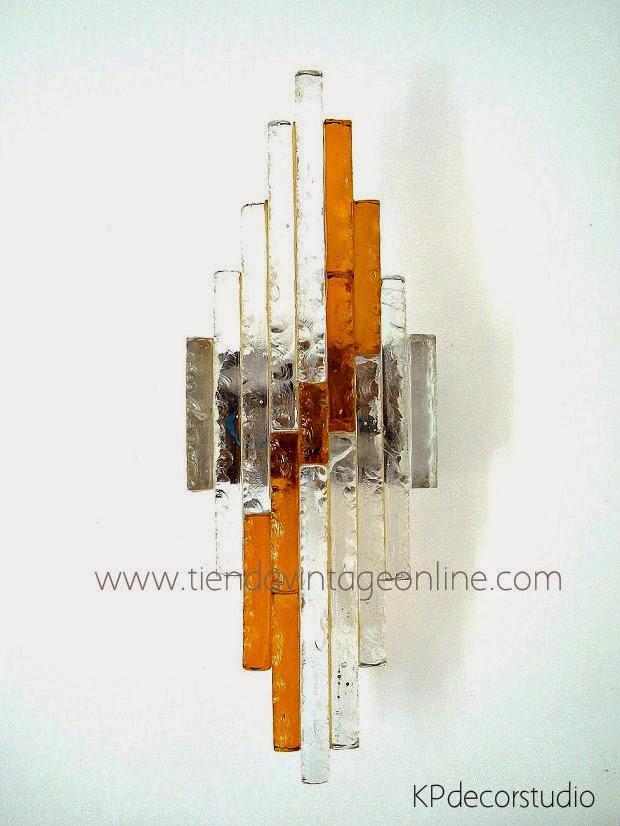 lámparas de pared vintage. apliques de lujo. marca poliarte. calidad y diseño