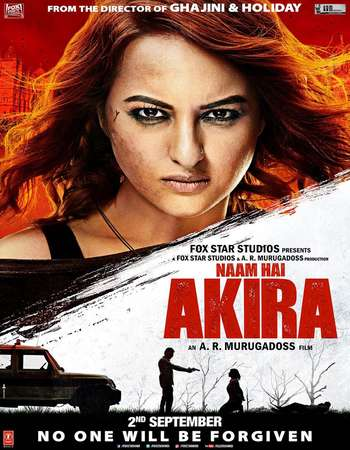 Poster Of Akira 2016 Hindi 720p   Watch Online Free Download world4ufree.org