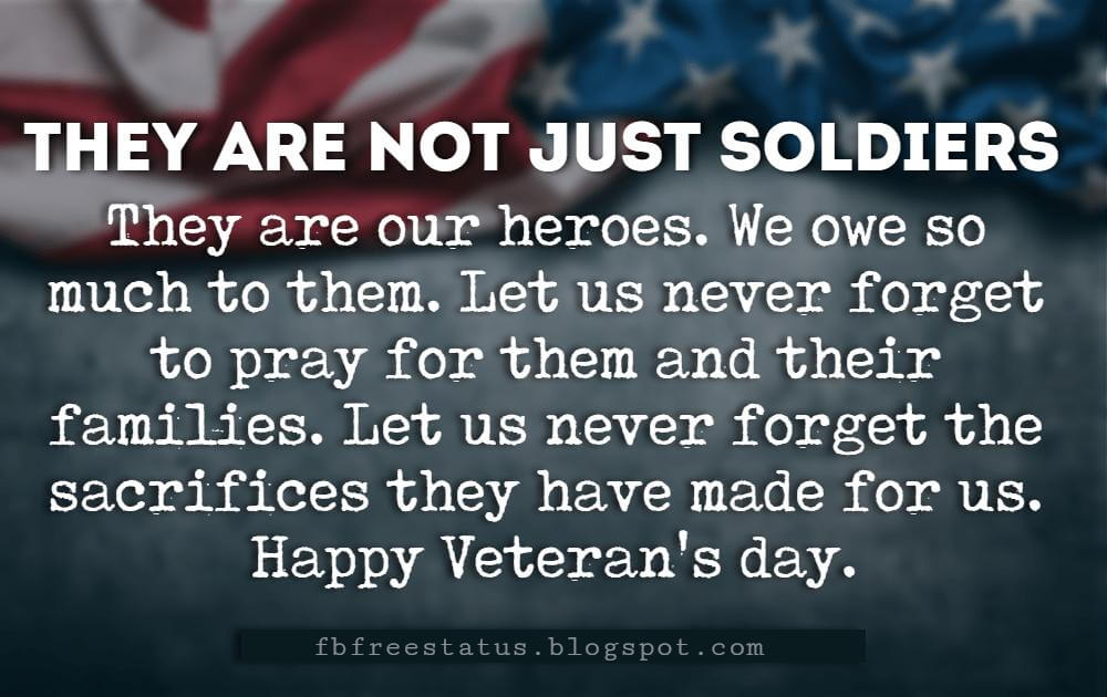 Happy Veterans Day Quotes & Messages With Pictures