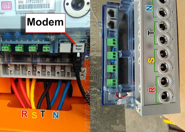 R S T N Pada Meteran Listrik 3 Phase (Kwh 3 Phase)