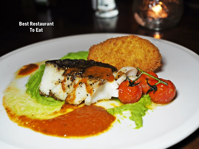 Tuscany Italian Restaurant - Roasted Atlantic Cod