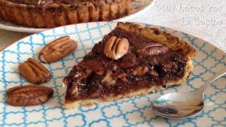 Chocolate Pecan Pie (Tarta Americana de Nueces Pecanas y Chocolate)