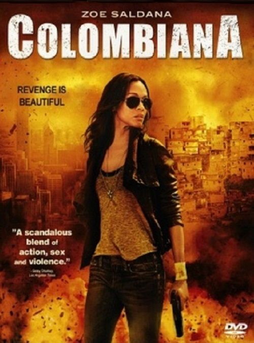 Colombiana 2011 Hindi Dual Audio 350MB BRRip 480p ESubs