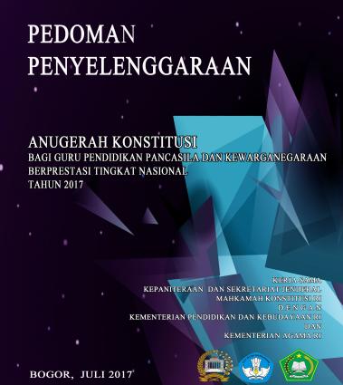 Anugerah Konstitusi Tahun 2017