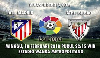 Prediksi Atletico Madrid vs Athletic Bilbao 18 februari 2018
