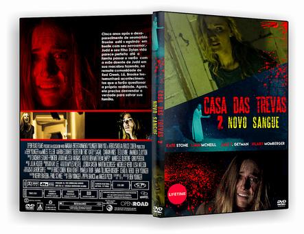 CAPA DVD – Casa Das Trevas 2 Novo Sangue – DVD-R