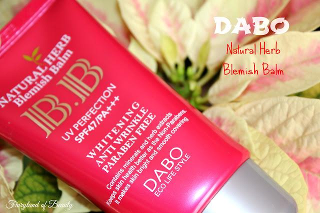 Отзыв: Отбеливающий bb-крем с солнцезащитным фильтром СПФ 47/PA+++ DABO Natural Herb Blemish Balm.