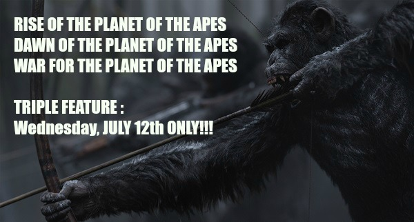 War for the Planet of the Apes Philly Screenings