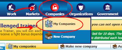 ภาพที่ 12 : เมนู my companies