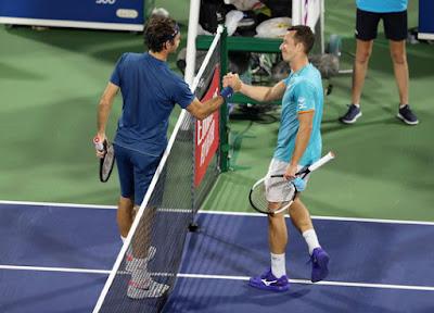 Federer và Kohlschreiber