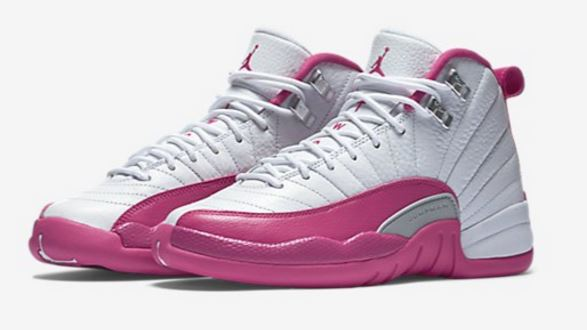 a1ed91637735cf ... switzerland here is a look at the new air jordan 12 gs vivid pink  sneaker available