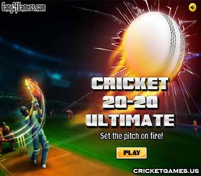 Online Cricket 20-20 Ultimate Game