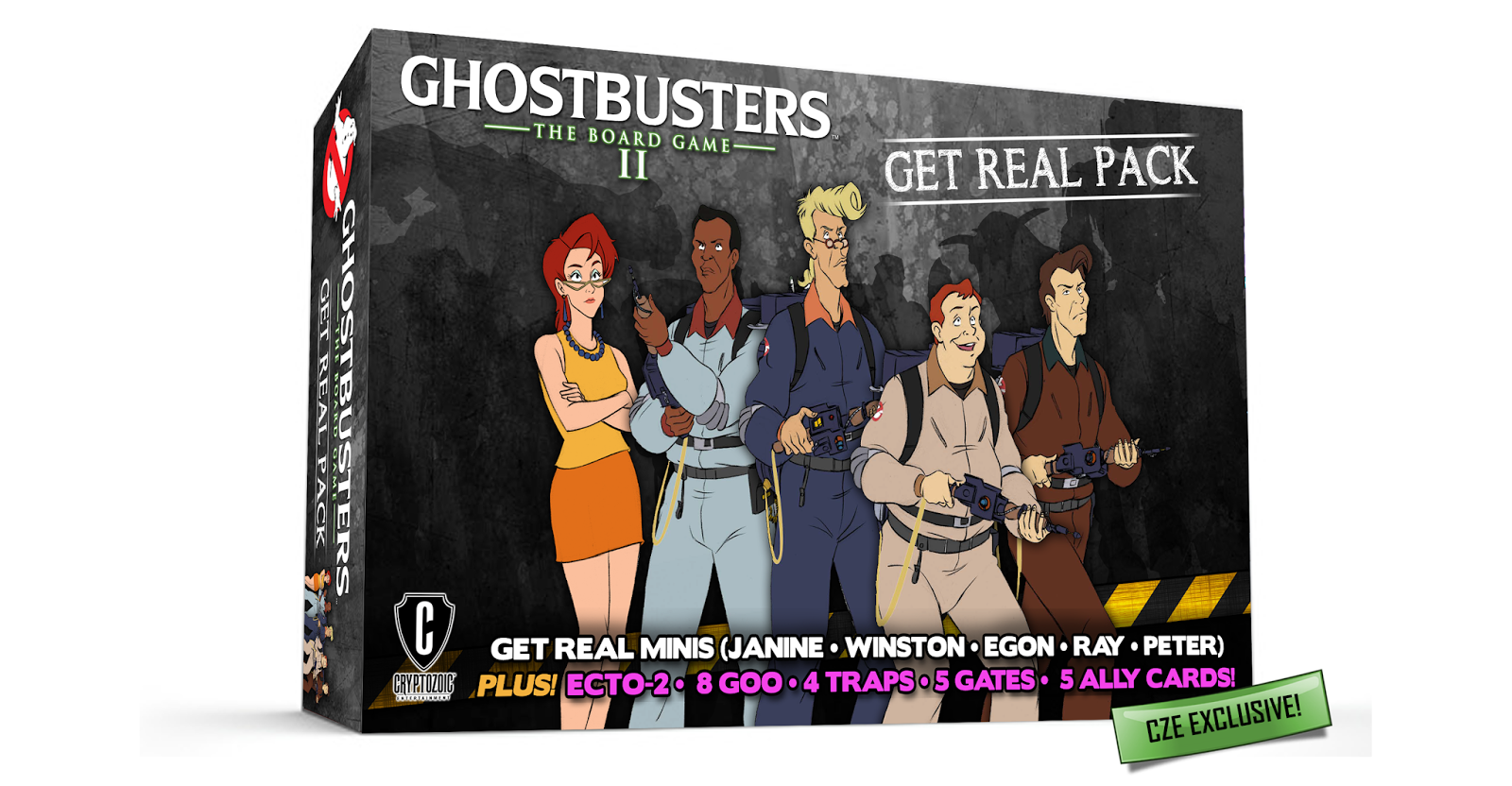Real ghostbusters are back in ghostbusters the board game ii