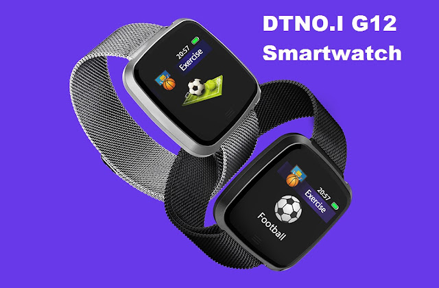 DTNO.I G12 Smartwatch Specs, Features, and Price