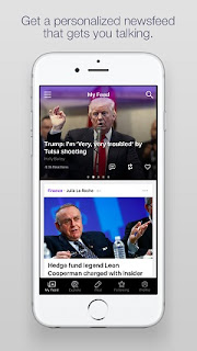 Yahoo releases Newsroom app for Android and iOS