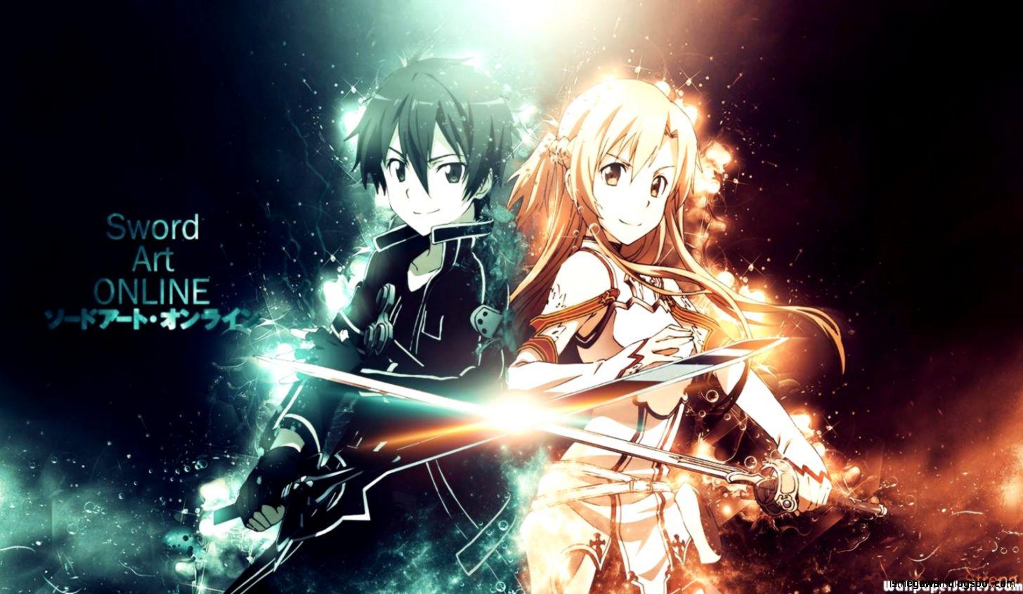 hd kirito and na sword art online anime download