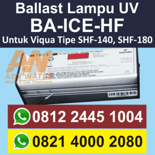 Ballast untuk Lampu UV Viqua/Sterilight SHF-140 dan SHF-180