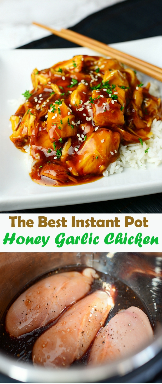 The Best Instant Pot Honey Garlic Chicken
