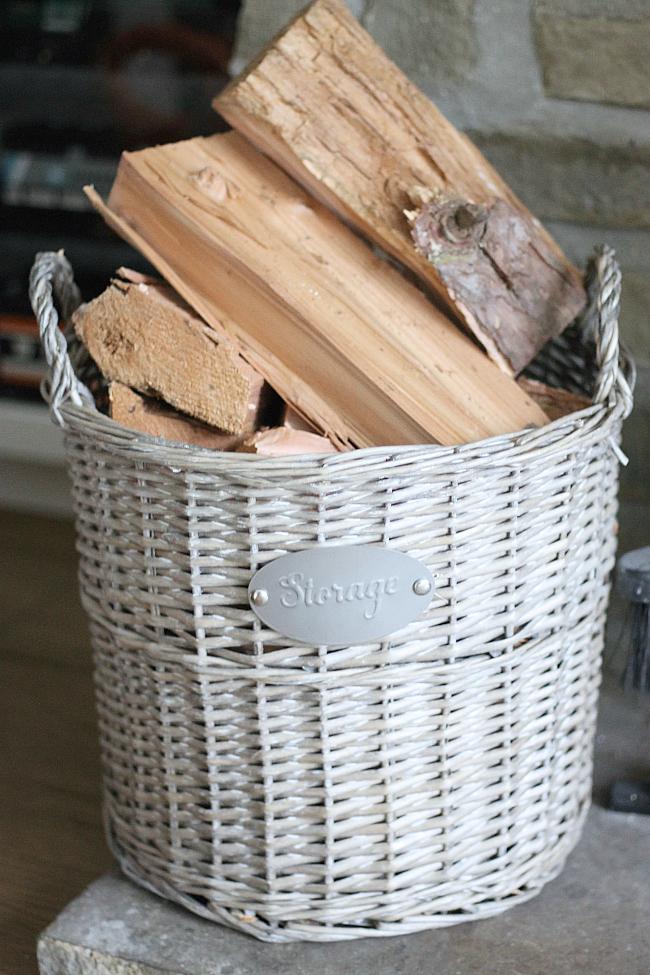 wood storage,