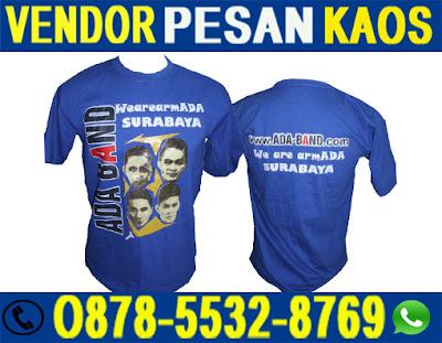 Tempat Vendor Pembuatan Kaos Sablon Promosi di Surabaya