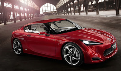 Toyota GT86 side look image
