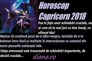 Horoscop 2018 Capricorn