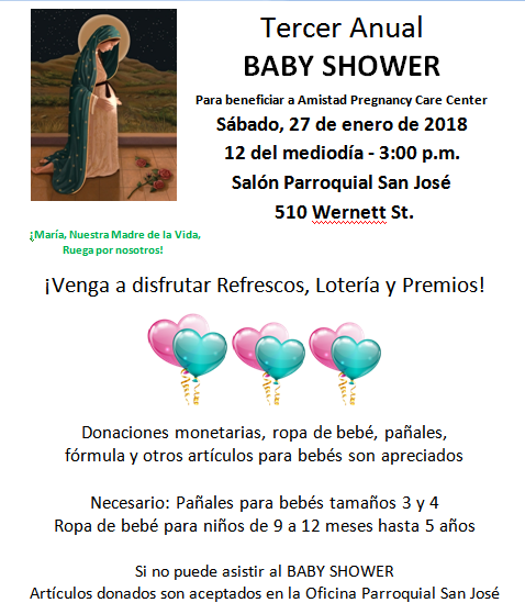 Spanish Baby Shower