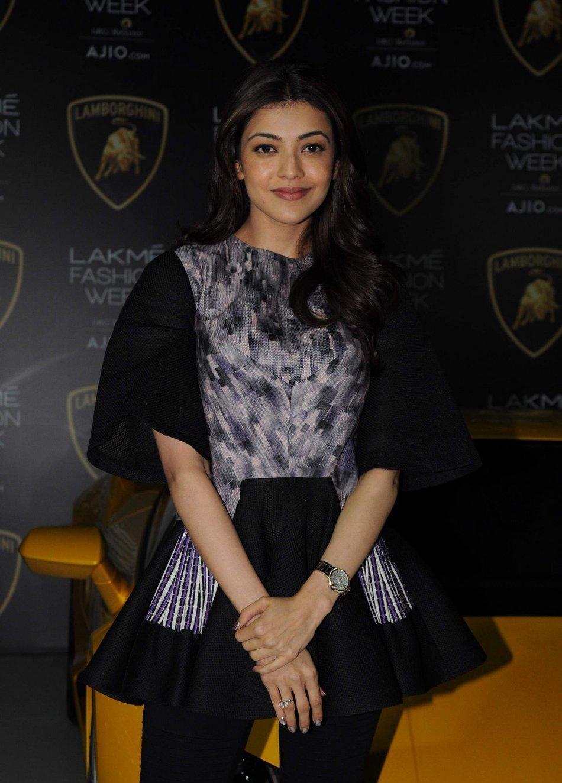 Kajal Agarwal Stills at Lakme Fashion Week