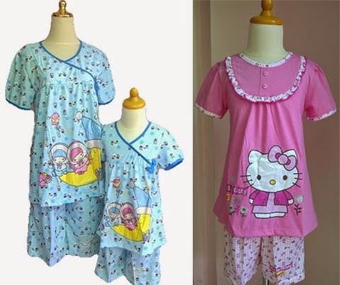 model baju santai anak