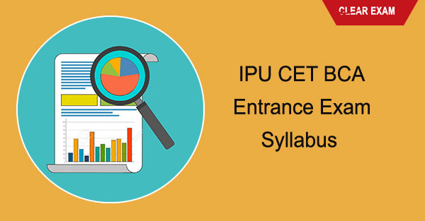 IPU CET BCA Entrance Exam Syllabus