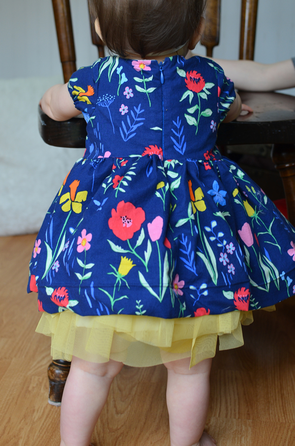 Lovely Sommer Fabric Easter dress perfect for a sweet little baby